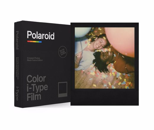 Polaroid Originals i-Type värifilmi, Black Frame