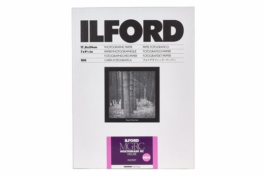 Ilford Multigrade IV RC Deluxe Glossy NEW
