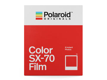 Polaroid Originals SX-70 värifilmi